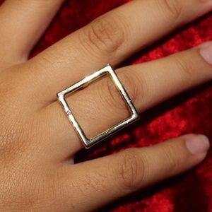Gold Geo Rings (I Take Offers!)